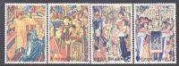 BELGIUM   B 978-81    **     TAPESTRIES - Unused Stamps