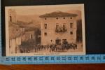 1932  ROMA MONTELIBRETTI  Bella E Rara Veduta Piazza Animata. Viaggiata - Roma (Rome)