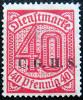 UPPER SILESIA 1920 40pf Due MINT NO GUM - Allemagne