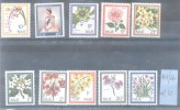 NIUE AÑO 1969 YVERT NRS. 107-116 MNH SERIE COMPLETA COMPLETE SET TBE