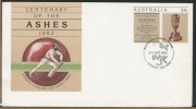 AUSTRALIA  -  Centenary Of The ASHES  -  CRICKET  -  Commonwealth Games  ´82 - Cricket
