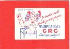 BUVARD Machine A Laver G R G - Buvards, Protège-cahiers Illustrés