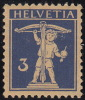 Fils De Tell, N° 182z, Mi. 199z, Papier Grillé De 1933. Gomme Intégrale, Qualité Luxe. - Svizzera
