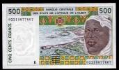 SENEGAL ( West African States) 500 Francs 2002 - P710Km  - UNC - Senegal