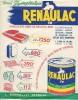 Peinture /Renaulac/Bonnal & Cie/Bégles / Gironde/Deniaud/Vers 1945-1950         VP22 - Pubblicitari