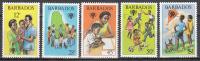 Barbados   Scott No  519-23    Mnh     Year  1979 - Barbados (1966-...)