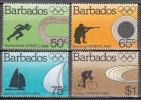 Barbados   Scott No  623-26     Mnh     Year  1984 - Barbados (1966-...)