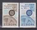 N° 1521 Et 1522 Europa 1967 : La Série En 1 Timbre Neuf - Unused Stamps