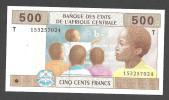 CONGO  (Central African States ) : 500 Francs - 106T - UNC - Zonder Classificatie