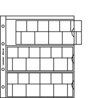 Lindner K8E Karat-Münzblätter Inkl. Zwischenblatt -5er- Packung - Supplies And Equipment