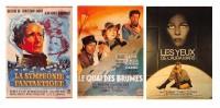 Lot 3 CPM Films Cinema N°4 -  BARRAULT MORGAN GABIN SIMON DUNAWAY  - Dos Vierge - Voir Les Scans - Cinema
