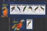 GRENADA 2011 BIRDS PARROTS MNH MI. 6406 - 11 BL. 804 - Papegaaien, Parkieten