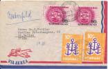 Uruguay air mail cover sent to Switzerland 6-11-1963 ??