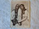 CPA - ERYTHREE - AOI AFRICA ITALIANA - DONNE AMATU E UNESE TIPI ABISSINI  1937 POSTA MILITARE 130 - Erythrée