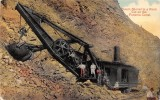 CPA STEAM SHOVEL IN A ROCK CUT ON THE CANAL PANAMA - Panama