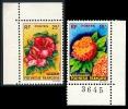 POLYNESIE 1962 - Yv. 15 Et 16 ** TB Cdf Variété  Cote= 45,00 EUR - Fleurs : Saracea Et Hibiscus ..Réf.POL22569 - Ungebraucht