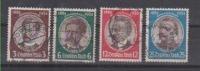 Año 1934 Establecimiento Colonias Alemanas Yvert Nº 499-502 - Deutschland