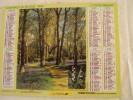 Calendrier Des Postes  1994- Edition Gironde,  Plan De Bordeaux Etc.. Bon état Intérieur,  5 Euros - Calendriers