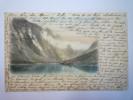 NORVEGE  :  GUDVANGEN  -  Carte Colorisée  1904    - Norvegia