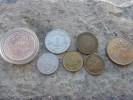 Lot 6 Monnaies Française + 1 Monnaie étrangère / Bonne Côte Voir Détailles Et Photos - France