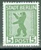 SBZ Berlin Und Brandenburg Mi. 1 Aux + Mi. 2 Awbz  + Mi. 3 Aux + Mi. 5 Awbz Alles Postfr. Wappen Berlin Bär - Zone Soviétique