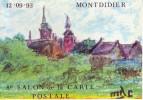 Carte Postale - 8è Salon De La Carte Postale. MONTDIDIER. 1993 - - Bourses & Salons De Collections