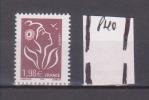 FRANCE / Variété TP Neuf ** / Y&T N° 3759 / Lamouche 1.98 € / Avec PHO Fortement Décalé (vers Le Haut) - Abarten Und Kuriositäten