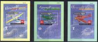 TRANSPORTE - BHUTAN 2000- Yvert #H401/03** Precio Cat€30 - Avions