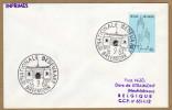 Enveloppe Cover Brierf 1224 Nationale Bedevaart Breendonk - Belgio