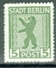 SBZ Berlin Und Brandenburg Mi.1 ABx + Mi. 1 AA X + Mi. 3 Ax Alles Postfr.  Wappen Berlin Bär - Zone Soviétique