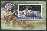 ESPACIO - HUNGRIA 1972 - Yvert#H 92** Precio Cat€20 - Espacio