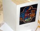 Vitraux De Notre Dame De Paris Rose Ouest La Moisson - Jolie Carte Deux Volets , Effet Vitrail - Bellas Artes