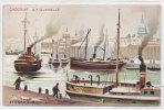 Chocolat D' AIGUEBELLE - STOCKOLM - Péniches - Illustration  (81732) - Werbepostkarten