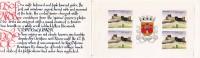 1987 - Caderneta Afinsa Nº 52 - 1798. Castelo De Trancoso E Brasão De Guarda. Bloco De 4 Selos Novos Sem Charneira - 1910-... République