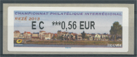 France, ATM Label,  Rezé, Trentemoult, River Loire, 0.56€, 2013, MNH VF - 2010-... Vignette Illustrate