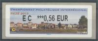 France, ATM Label,  Rezé, Trentemoult, River Loire, 0.56€, 2013, MNH VF - 2010-... Illustrated Franking Labels