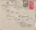 LIBIA - MISURATA - R. QUESTURA P.A.I.  _ 21.9.1942  /  ITALIA _ Cover _ Lettera - Cent. 50 X 2 _ Scritto All´interno - 1900-44 Vittorio Emanuele III