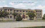 Texas Abilene President Hall Mc Murry College