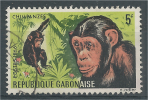 Gabon, Chimpanzee, 1967, VFU - Gabon