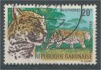 Gabon, Leopard, 1967, VFU - Gabon