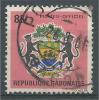 Gabon, Coat Of Arms, 85f., 1968, VFU Official - Gabon
