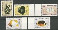 Benin 1996 Mi# 897-901 MNH Fishes - Fishes