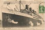 CPA-1910-PAQUEBOT-Cie GENERALE TRANSATLANTIQUE-FRANCE--TBE-RARE - Paquebots