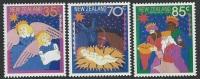 NZ  1987   Sc#880-2   Christmas Set    MNH** - New Zealand