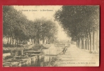 MBC-19  Le Creusot   Le Bois-Bretoux, Pêcheur Avec Une Belle Prise. Envoyée Au Maire De Saint-Jean-de-Trézy 1908 - Le Creusot