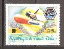 HAUTE VOLTA, 1983, Yvert N° 237, Espace, Lancement De La Navette Spatiale  US CHALLENGER, 90 F, Neuf **, TB