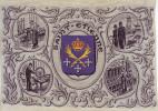 - Tissé Sur Soie - Calendrier De 1958. L'industrie à Saint Etienne. Tollet Frères. Saint Etienne - - Tapis & Tapisserie