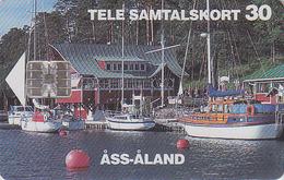 ALAND Télécarte à Puce  - BATEAU VOILIER - SAILING SHIP Chip Phonecard  - SCHIFF Telefonkarte -  271