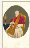 CDV PHOTO, POPE PIUS IX, Anonymous Photographer, Hand Colored, Circa 1870 - Ancienne - Photos