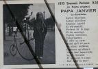 PARIS PAPA JANVIER 1933 - Petits Métiers à Paris